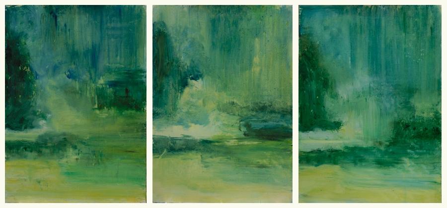Tryprichion Landschaften, 3x80x60 cm